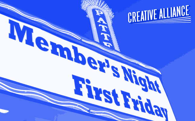 Members Night First Friday!
