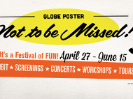 Globe Poster: Not to be Missed!