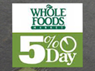Shop at Whole Foods - Harbor East May 16 & Support CA!