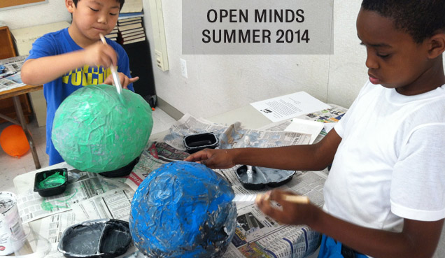 Open Minds Art Club at Patterson Park Library