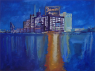 Watercolors and Wine: Domino Sugar