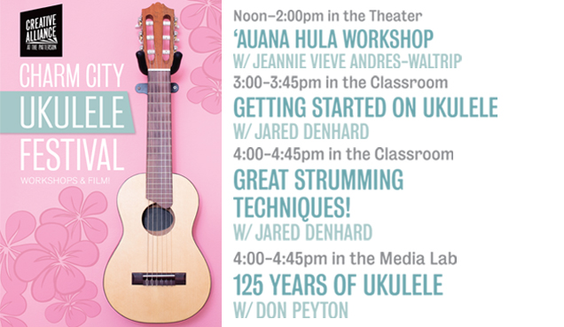 Charm City Ukulele Festival -Workshops