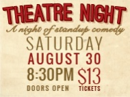 Ezra Winter: Comedy Theatre Night