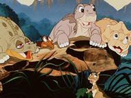 Family Dinner & Movie - Land Before Time