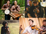 Fiery Fiddles - Ken & Brad Kolodner, Patrick McAvinue, Jim Eagan, and Daisy Castro