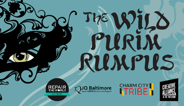 RESCHEDULED - The Wild Purim Rumpus: A Night of Masquerade & Mischief