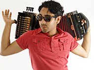 Zydeco Dance Party:  Ruben Moreno
