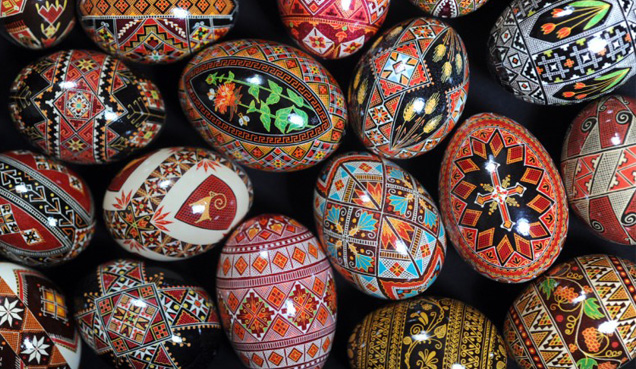 Pysanky Ukranian Egg Decorating Workshops