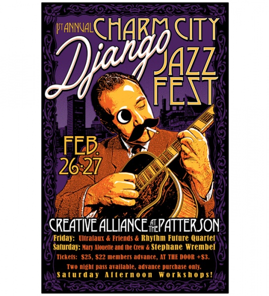 SOLD OUT 1st Annual Charm City Django Jazz Fest