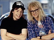Wayne's World Interactive Movie Night!