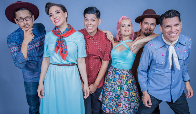 The Glow Ball! with Las Cafeteras