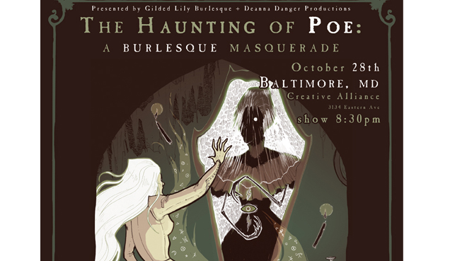 SOLD OUT: THE HAUNTING OF POE: A BURLESQUE MASQUERADE