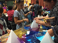 Community Lantern Workshop at PPPCS