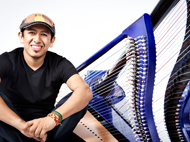 An evening with Colombian Jazz Harpist Edmar Castaneda
