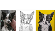 Pet Portrait Painting Workshop  w/ Ania Milo Swann of Date With Paint