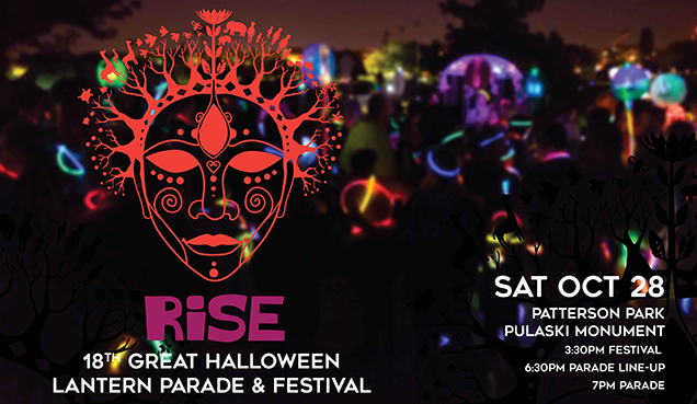 2017 Great Halloween Lantern Parade & Festival!
