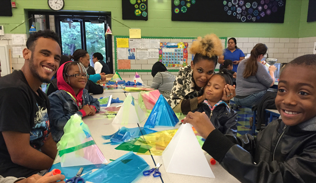 Lantern Making Workshop at Tench Tilghman Elementary/Middle School