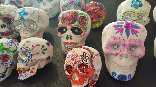 SUGAR SKULL MAKING - for adults!