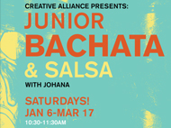 JUNIOR BACHATA & SALSA CLASSES