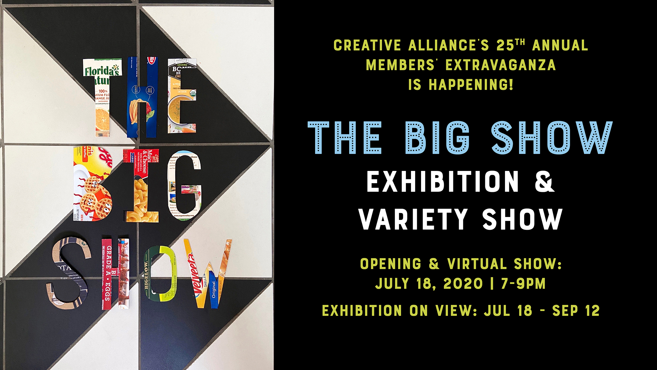 the big show creative alliance members exhibition and variety show