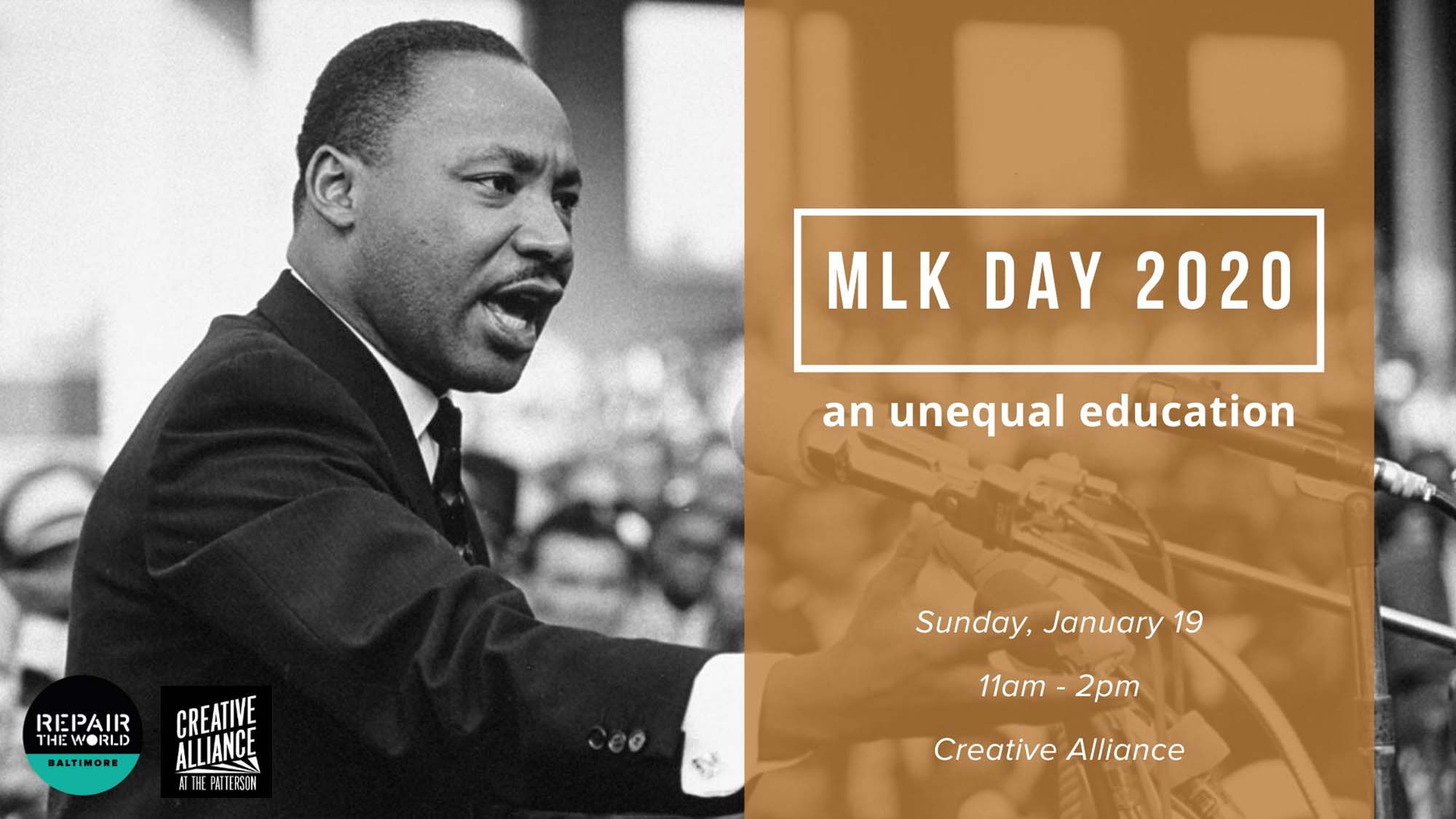 Mlk Day 2020 An Unequal Education Creative Alliance